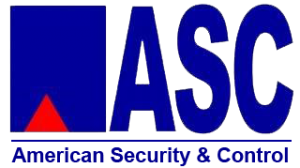Logo, American Security & Control